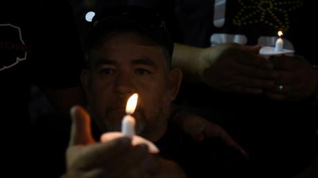 Gedenkveranstaltung für die Opfer des Attentats von El Paso, Texas, USA, 4. August 2019.