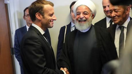 Die Präsidenten Frankreichs und des Iran, Emmanuel Macron und Hassan Rohani, trafen sich bei der UN-Generalversammlung im vergangenen Jahr zu informellen Gesprächen. Diese könnten sich jetzt als nützlich erweisen.
