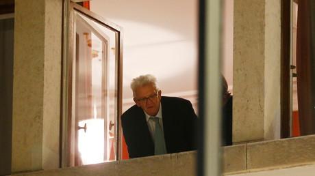 Der Ministerpräsident Baden-Württembergs Winfried Kretschmann, Berlin, Deutschland, 17. November 2017.