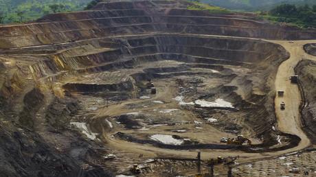 Kupfer- und Kobaltmine im Tagebau Tenke Fungurume im Kongo