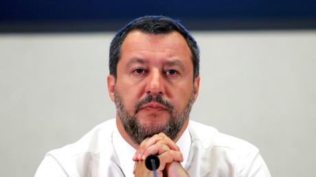 Der italienische Lega-Chef Matteo Salvini, Rom, Italien, 15. Juli 2019.
