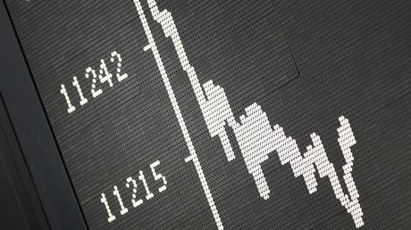 Nicht nur der deutsche Aktienindex DAX ist eingeknickt, auch die Wirtschaft hat die Folgen des internationalen Handelskrieges zu spüren bekommen.