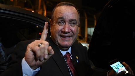Konnte sich am Ende bei den Wahlen in Guatemala durchsetzen: Der