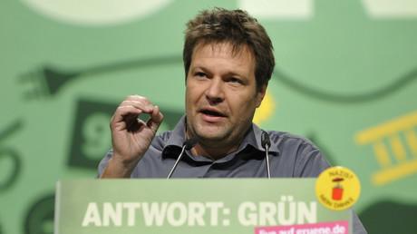 Grünen-Chef Robert Habeck, Kiel, Deutschland, 26. November 2011.