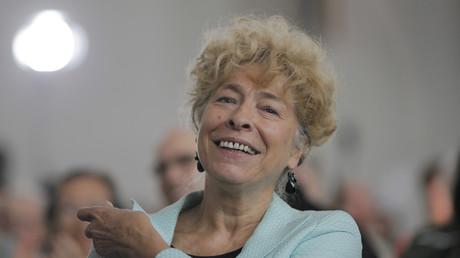 Gesine Schwan, Frankfurter Paulskirche, Deutschland, 26. April 2019.