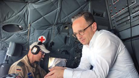 Symbolbild: Bundesaußenminister Heiko Maas in einer