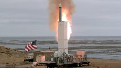 Am Sonntag testete das US-Militär eine Rakete mit über 500 Kilometern Reichweite.