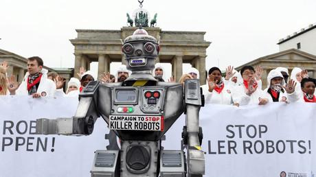 Am 21. März protestierten in Berlin Aktivisten der
