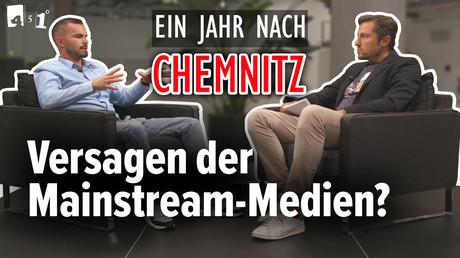 Ein Jahr nach CHEMNITZ – Eine Analyse der Mainstream-Medien