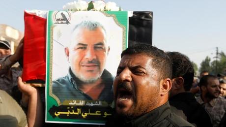 Kazem Ali Mohssen, ein Brigadekommandeur der irakischen Miliz Haschd al-Schaabi oder PMF, wurde bei einem israelischen Drohnenangriff am 25. August getötet.
