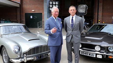 Symbolbild: Prince Charles und der James-Bond-Darsteller Daniel Craig (20. Juni 2019)