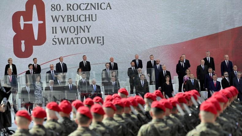 LIVE: 80. Jahrestag nach Beginn des 2. Weltkrieges – Gedenkveranstaltung