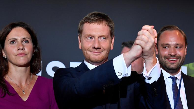 Wer jetzt mit wem regieren kann – Sachsen und Brandenburg steuern auf Dreier-Koalitionen zu