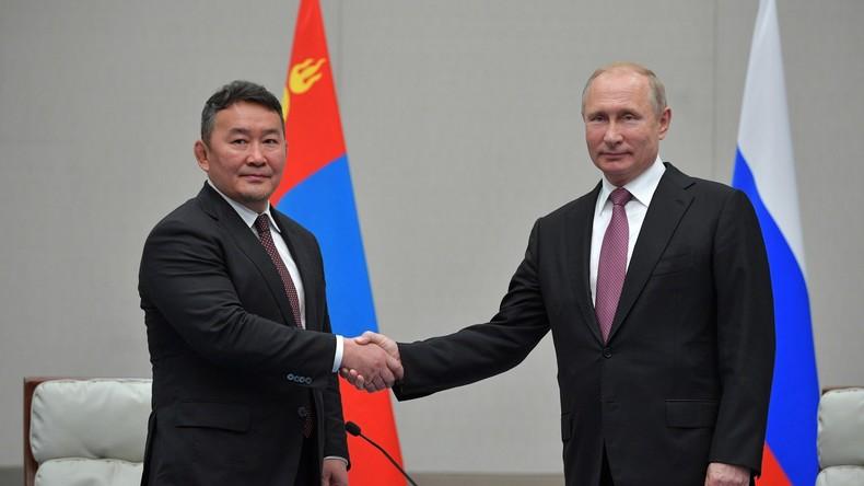 Putin: Dauerhafter Freundschaftsvertrag mit Mongolei hebt Beziehungen auf neue Ebene
