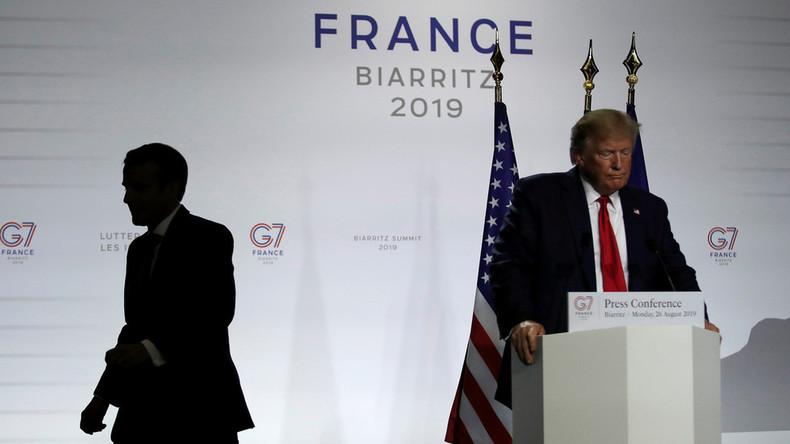 """George Galloway: Macron weiß, für Europäer ist das """"Problemland"""" nicht Russland, sondern die USA"""