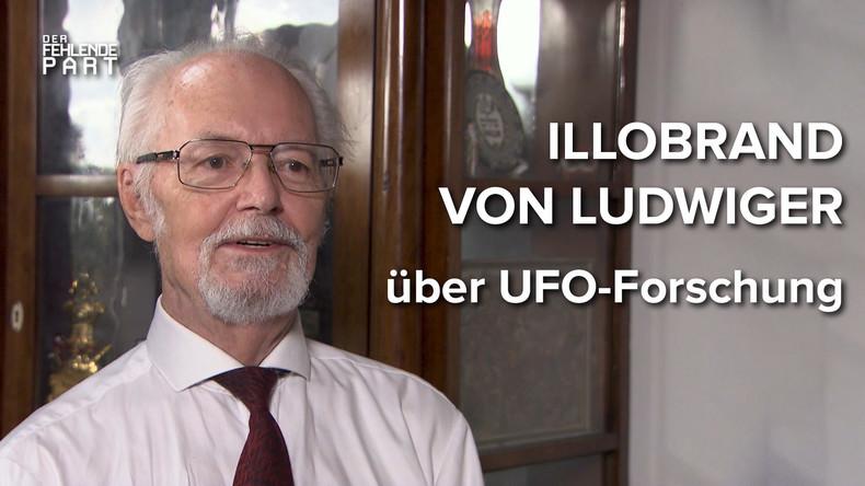 """""""Und es gibt sie doch!"""" – UFO-Forscher Illobrand von Ludwiger im Gespräch"""