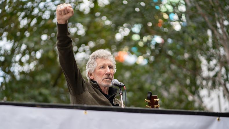 Forderung nach Freiheit: Roger Waters gibt Solidaritätskonzert für Julian Assange (Video)