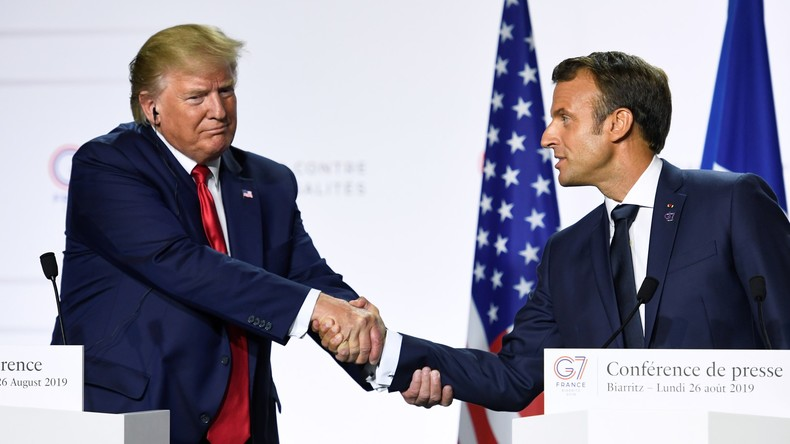 Macron drängt auf Kompromisslösung zur Rettung des Atomdeals