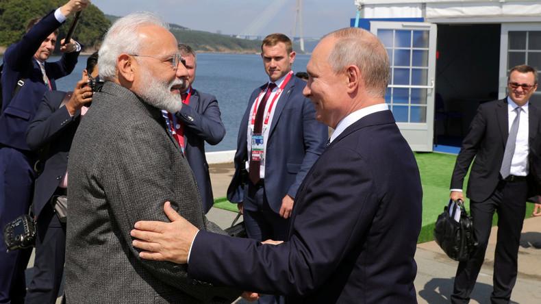 LIVE: Indiens Premierminister Modi und Russlands Präsident Putin geben Pressekonferenz