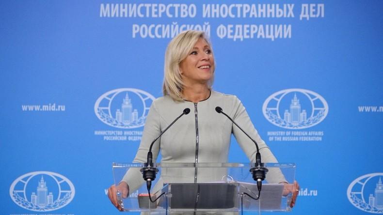 LIVE: Sprecherin des russischen Außenministeriums Marija Sacharowa gibt Pressekonferenz [KW36]