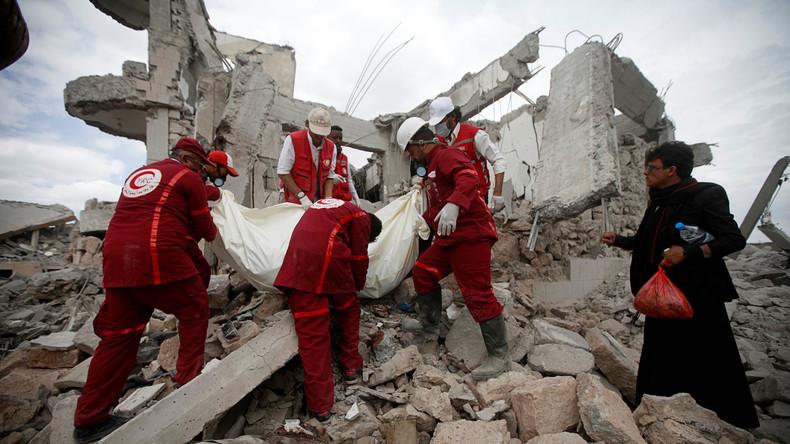 Luftangriff auf Gefängnis in Jemen – Rotes Kreuz spricht von Völkerrechtsverstoß (Video)