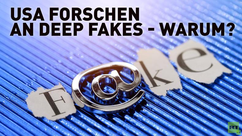 "Kampf gegen Fake News nur als Vorwand? US-Militär forscht zu ""Deep Fakes"""