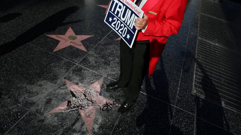 """""""Totalitärer Liberalismus"""": Hollywood-Schauspieler fordern Offenlegung von Trump-Förderern (Video)"""