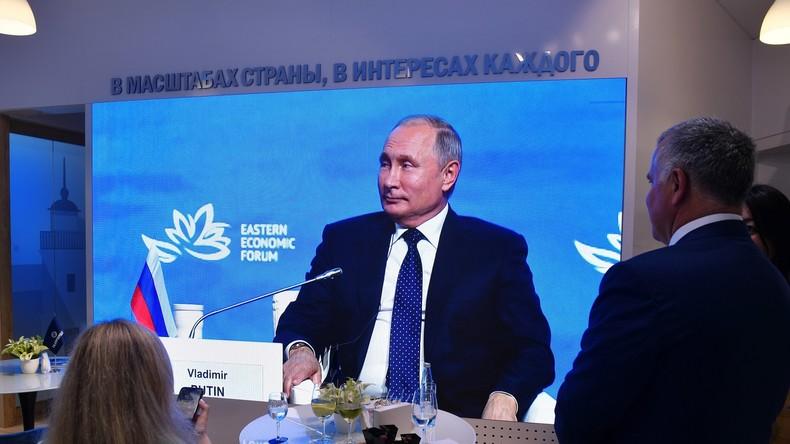 Putin: Seit 2015 wurden über neun Milliarden US-Dollar in Russlands Fernen Osten investiert