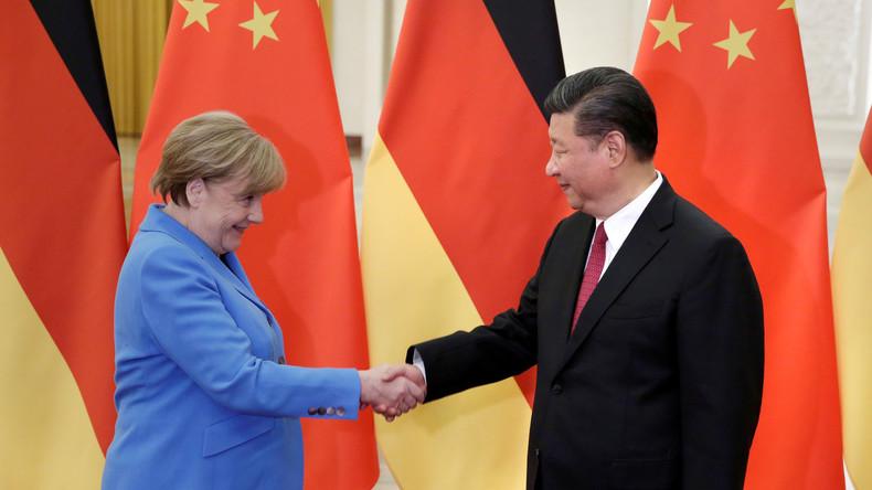 """""""Werte""""? Bitte nicht so laut: Merkels Mission in China"""