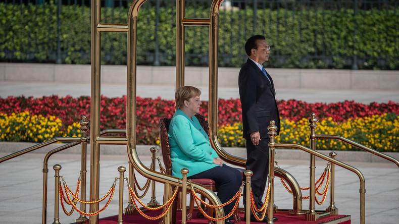 Mehrheit der deutschen Journalisten bei Merkels Besuch in Peking von Pressekonferenz ausgeschlossen