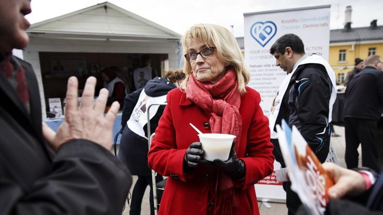 Finnische Politikerin gerät wegen Bibelzitat ins Visier der Polizei