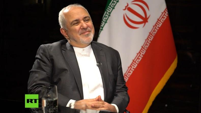 Iranischer Außenminister: US-Tyrann hält andere vom Einhalten internationalen Rechts ab (Video)