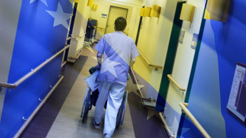 Bosnien-Herzegowina: Pflegepersonal verlässt in Scharen das Land in Richtung Westeuropa (Video)