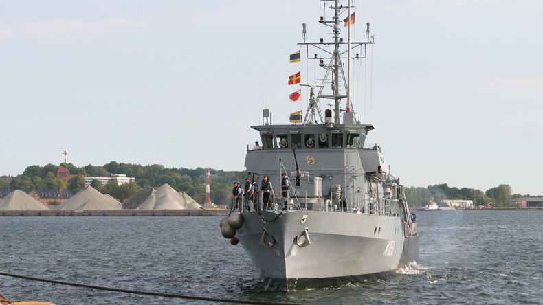 Unter deutscher Führung: NATO-Marine übt für Ostseekrieg