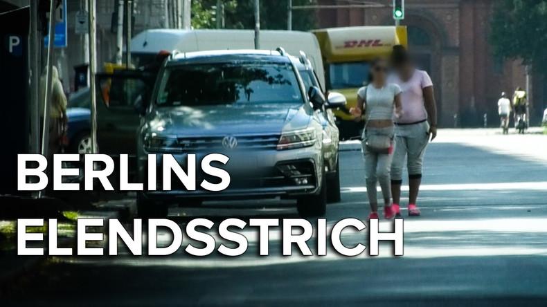 Der Elendsstrich der Hauptstadt: Die Kurfürstenstrasse in Berlin (Video)