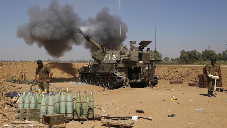 Israel greift nach Raketenbeschuss aus Gazastreifen Hamas-Stützpunkte an