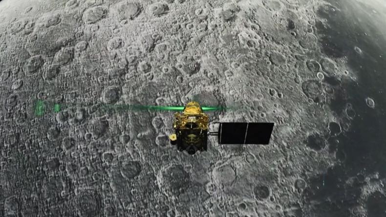 """Misslungene Mondlandung: Indien verliert Kontakt zu seiner Sonde """"Vikram"""""""