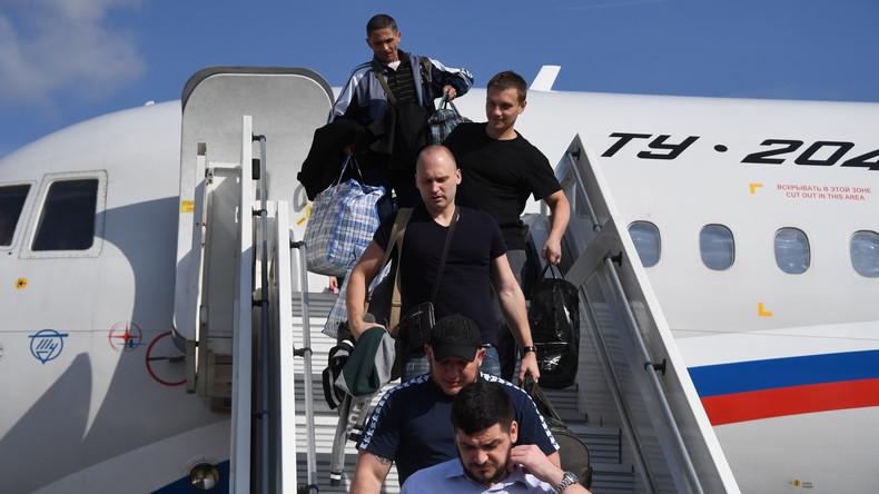 Historische Aktion: Russland und Ukraine tauschen jeweils 35 Gefangene aus
