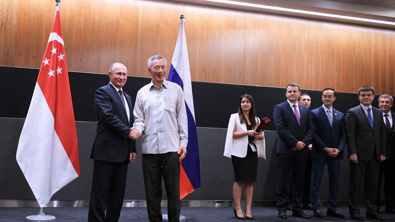 Singapur tritt im Oktober von Russland geführter Freihandelszone bei