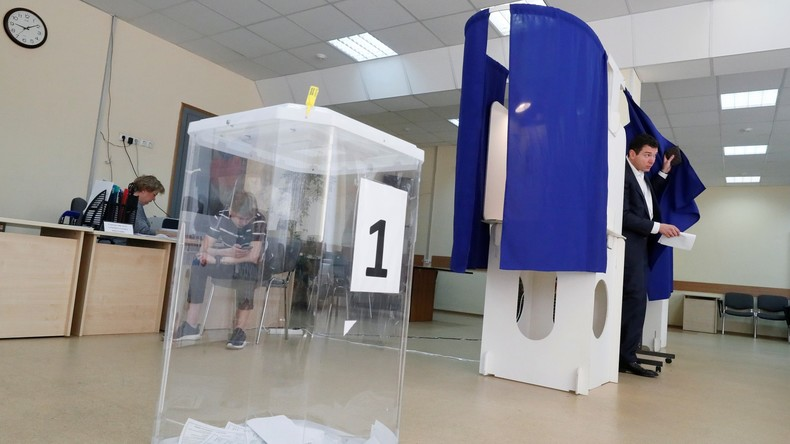 LIVE nach den Kommunalwahlen in Russland: Pressekonferenz von internationalen Experten