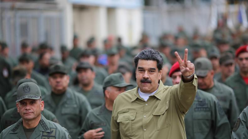 Venezuela beginnt mit Manöver an Grenze zu Kolumbien
