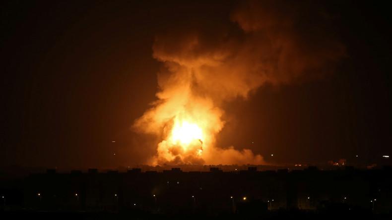 Vergeltungsschläge nach Raketenangriff: Israel greift vermeintliche Terrorziele in Gaza an