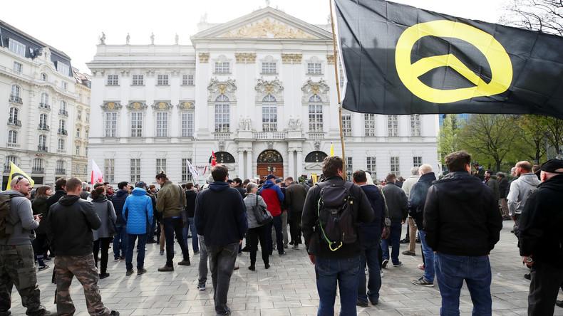Österreich debattiert Verbot der Identitären Bewegung