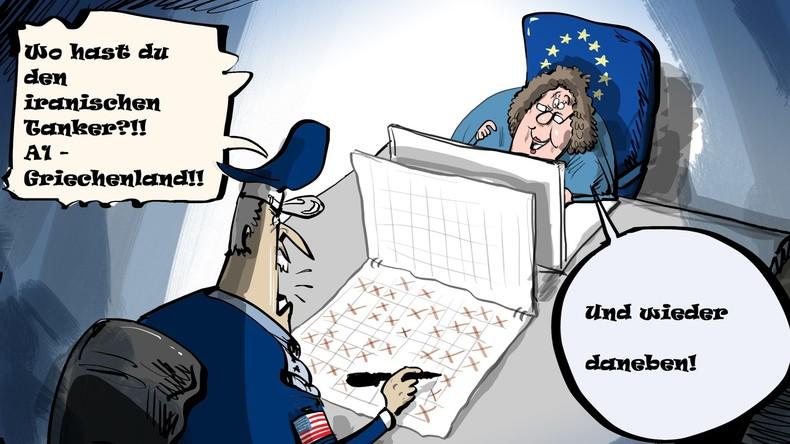 Europas ausgewachsenes Stockholm-Syndrom angesichts US-Mobbing