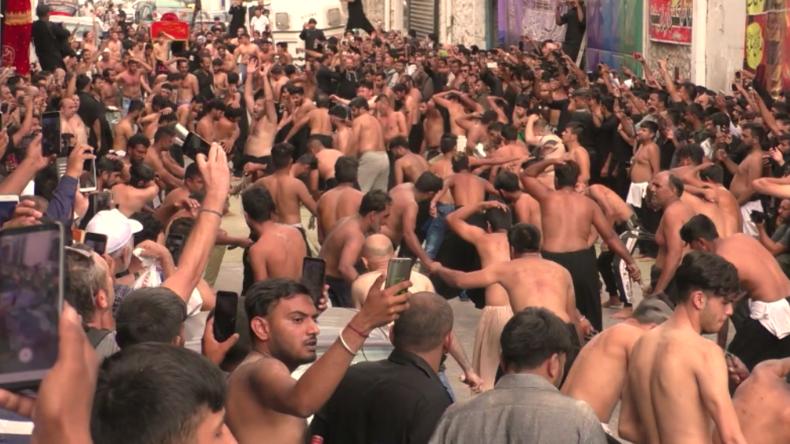 Griechenland: Hunderte Muslime beginnen blutiges Aschura-Fest