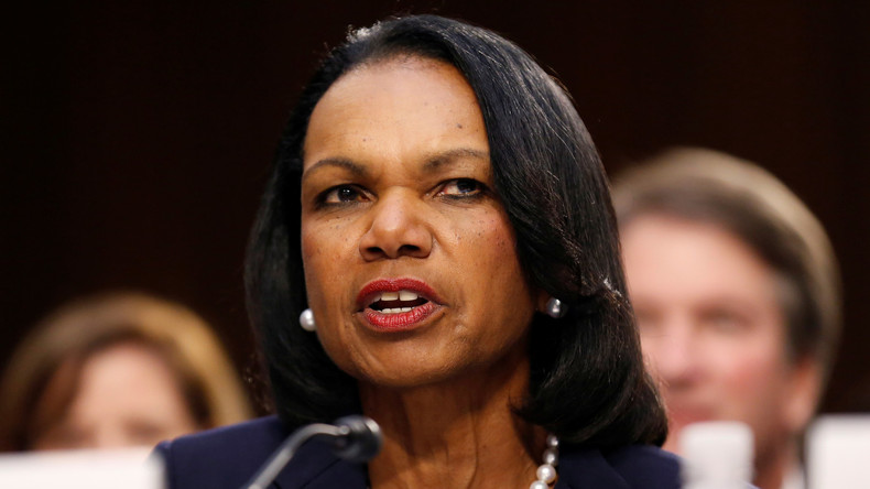 """Ex-US-Außenministerin Rice fordert Truppenverbleib in Afghanistan – diesmal """"für die Frauen"""""""