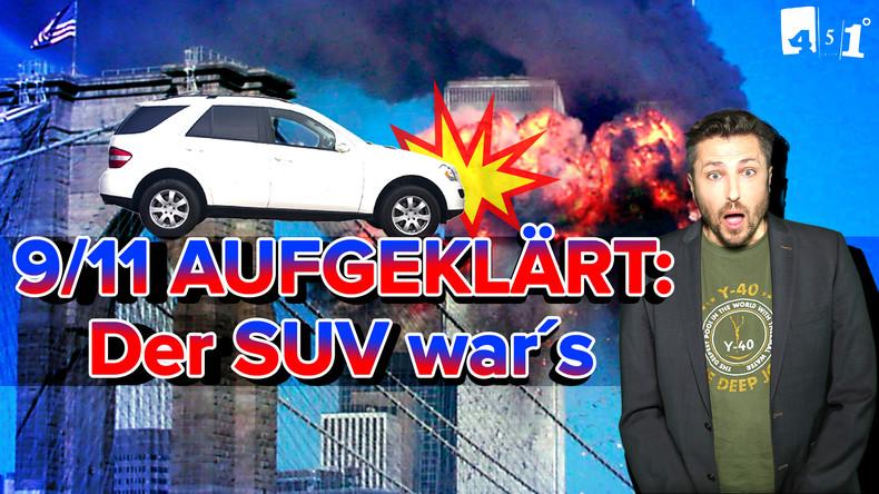 9/11 endlich GEKLÄRT | CORRECTIV lobt RT | MERKEL-SCHLEIMERDOKU | 451 Grad
