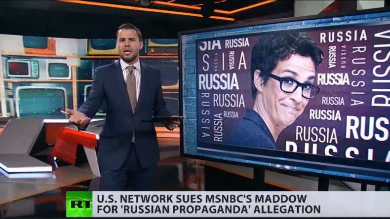 Russlandparanoia als Quotengarant: Verleumdungsklage gegen MSNBC-Moderatorin (Video)