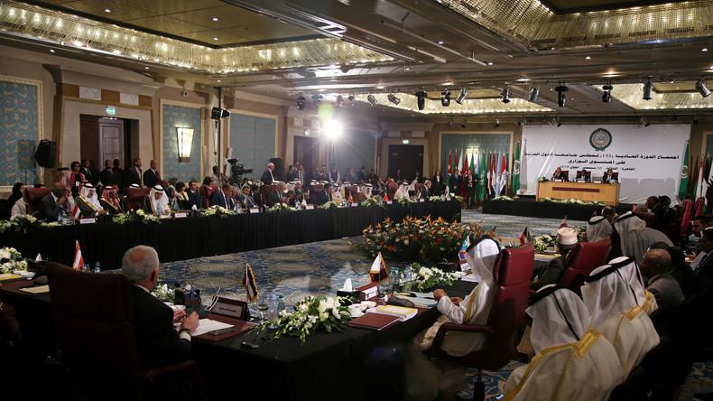 Arabische Liga diskutiert über Syriens Wiederaufnahme