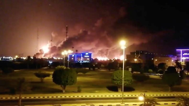 Saudi-Arabien: Behörden vermuten Drohnenattacke hinter Brand in Erdölwerken